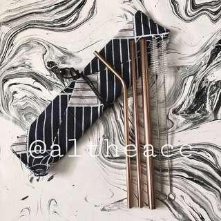 Reusable Straws (Bronze)