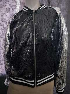 Sequin glitter s jacket