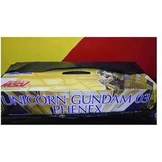 1/60 Perfect Grade Unicorn Gundam 03 Phenex Gold Plated