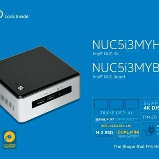Intel NUC5i3MYHE MINI PC