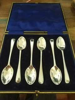 老英國 1915 純銀茶匙 UK sterling silver tea spoon