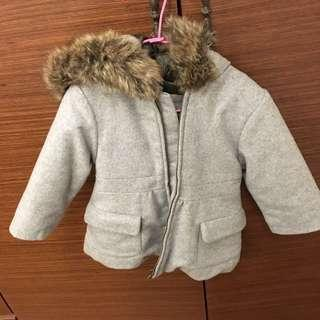 🚚 Jacardi 幼兒女大衣 size18M