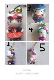 Hello Kitty string Keychain #MakeSpaceForLove