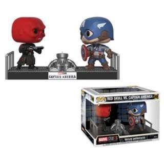 Funko Red Skull vs Captain America