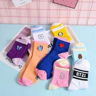 [PO] BT21 Uzzlang Socks