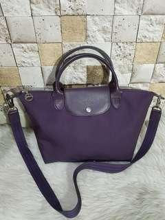 Longchamp Neo Small Bilberry