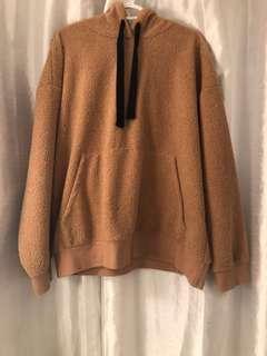 Teddy / Sherpa hoodie