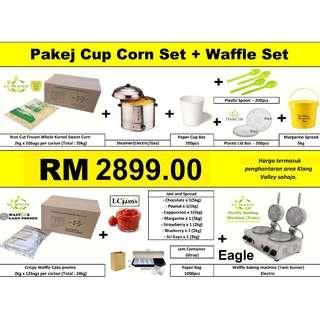 Corn in the Cup + Waffle business package