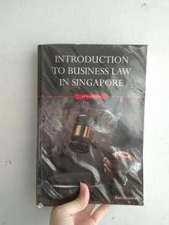 BSP1702 Introduction to Business Law in Singapore