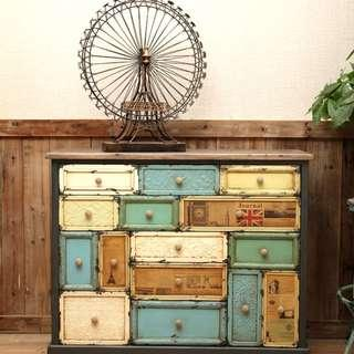 Old Rustic Cabinet
