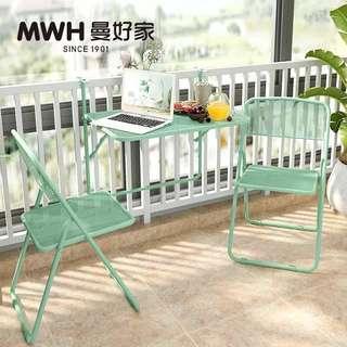 Balcony table - railing mount