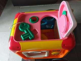 Anpanman activity cube (6 side can play)