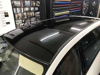 Pinic roof wrap ultra glossy black