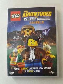 LEGO 1st movie DVD Adventures of Clutch Powers