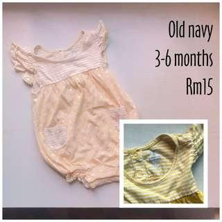 Old Navy baby romper #Dec30
