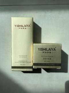 Yishilaiya Anti-Acne Toner and Cream Set