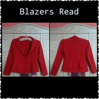 Preloved Blazer Red