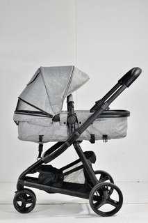 Unilove Azraa Stroller / Pram - Grey