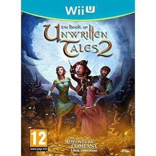 Wii U The Book of Unwritten Tales 2