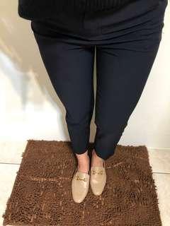 直筒西裝褲/9分褲