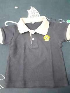 Kaos bayi biru
