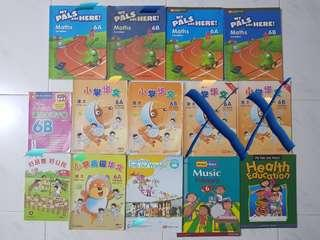 P6 Textbooks, Activity Book & Assessment Books