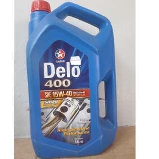 15w40 Diesel engine-oil (2x5litre-bottles & STP-bottle SOLD !)