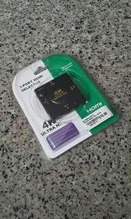 3 Port HDMI Selector
