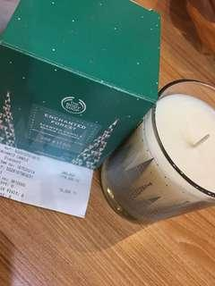 THE BODY SHOP CANDLE