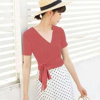 Casual Knotted Top