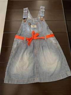 Authentic OshKosh B'Gosh Denim Dress