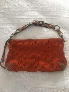 Authentic LV leather