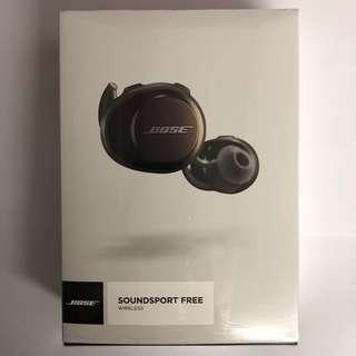 Bose Soundsport Free 真 無線藍牙耳機(水貨)
