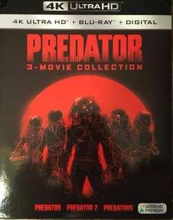Predator 1-3 4K UHD & Bluray