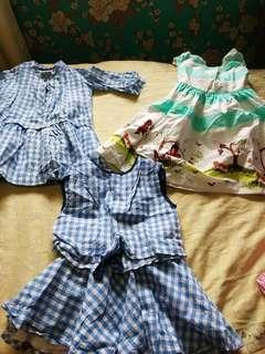 A Preloved bundle clothes for your daughter!  1-3years old