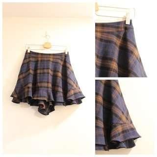 *$200即買*日本 franche lippee 可愛英倫格仔橡筋腰裙褲 日本製