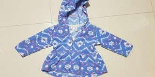 carters fleece jacket 9m