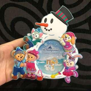 Instock hk Disneyland duffy, Shelliemay, gelatoni, Stella Lou and cookie Christmas magnet photo frame