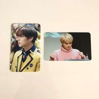 wanna one | jihoon fansite photocards