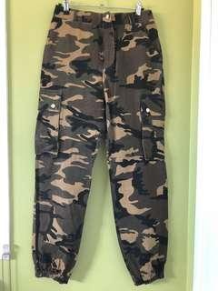 New cargo pants Size 8