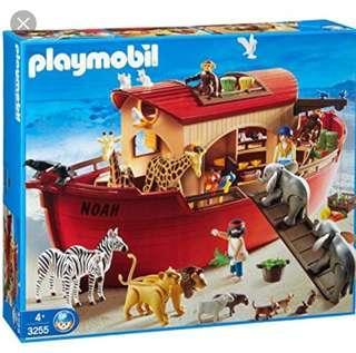 Children toys - Playmobil 3255 Noah's Ark