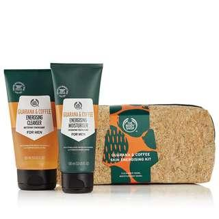Guarana & Coffee Skin Energising Kit The Body Shop