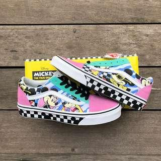Vans limited edition mickey 90s