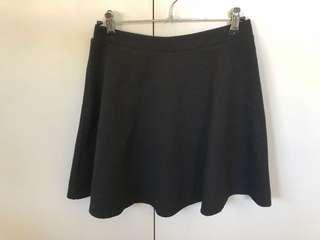 Black Dotti skirt Size 8