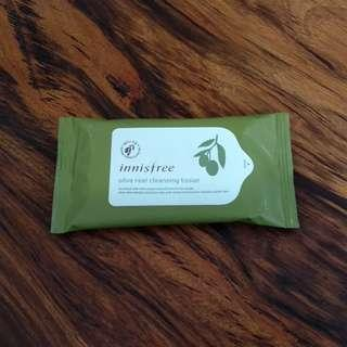🚚 Innisfree Olive Real Cleansing Tissue