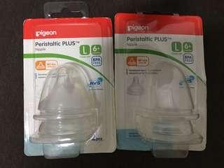 Peristaltic Plus Nipple L 3pcs