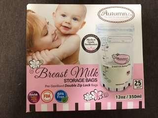 Breast Milk Storage Bags 350mL