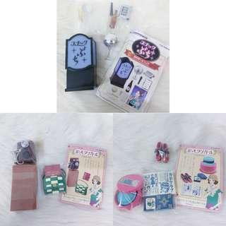 🚚 Re-Ment 盒玩 模型 配件 拍照 生活 禮盒 日本 懷舊 昭和 摩登 女郎 轉蛋 扭蛋 食玩