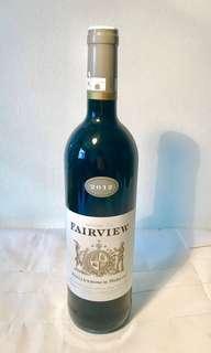 Red Wine - Fairview 2012 Stellenbosch Merlot