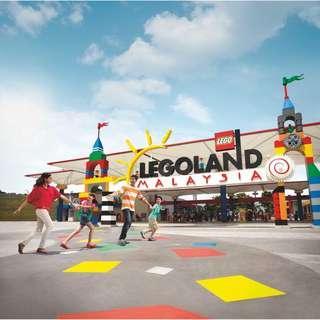 Legoland Malaysia Themepark Waterpark Combo - Instant E tickets - 马来西亚新山乐高主题水上乐园1日2日套票 电子票 快速出票 当天可订